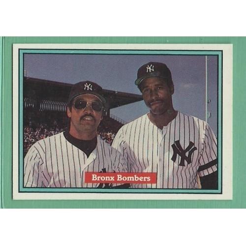 1982 Donruss #575 Bronx Bombers REGGIE JACKSON / DAVE WINFIELD Yankees