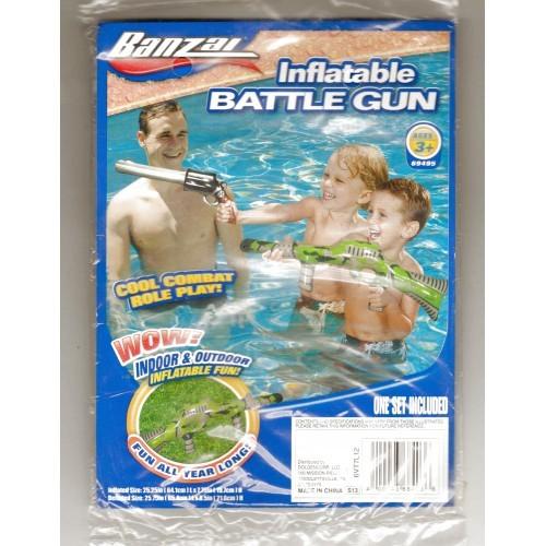 Banzai Swimming Pool Fun Time Inflatable Battle Gun