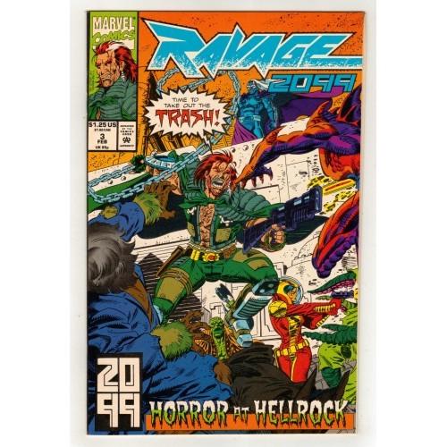 1993 Ravage 2099 Comic # 3 – FN+