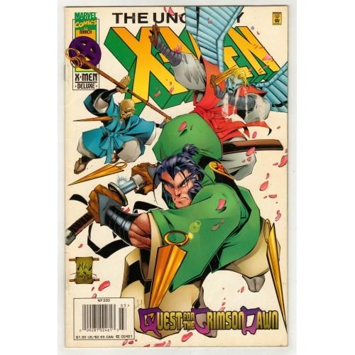 1996 Deluxe Edition Uncanny X-Men Comic # 330 - FN