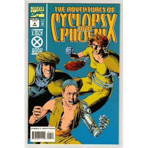 1994 X-Men Book - The Adventures Of Cyclops And Phoenix Comic # 4 – NM