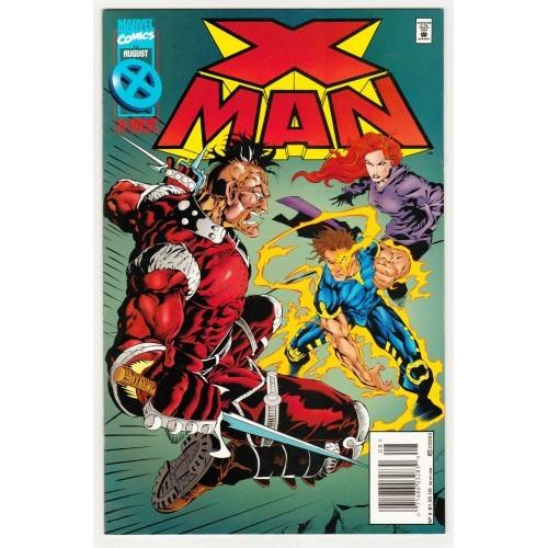 1995 X-Men Deluxe Edition X Man Comic # 6 – NM