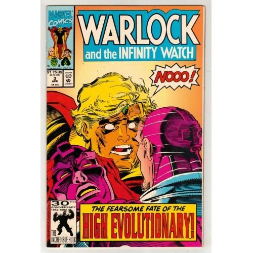 1992 Warlock And The Infinity Watch Comic # 3 – VF+