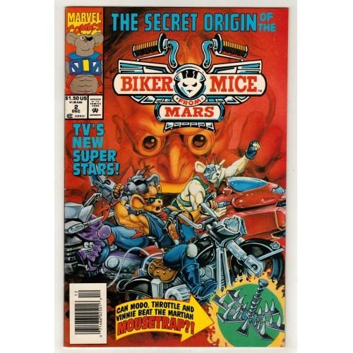 1993 Biker Mice From Mars Comic # 2 – FN