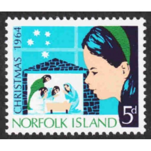 Norfolk Island - Scott #68 MNH (2)
