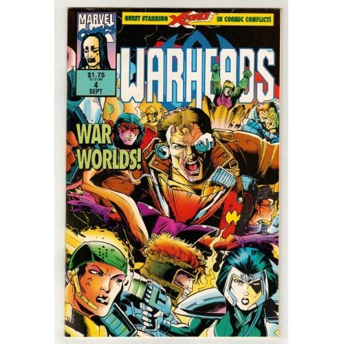 1992 WarHeads Comic # 4 – FN+