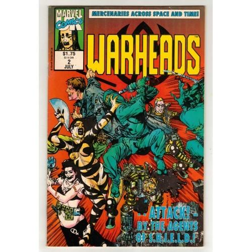 1992 WarHeads Comic # 2 – VG+