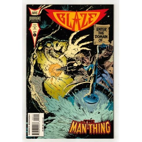 1994 Blaze Comic # 2 – NM