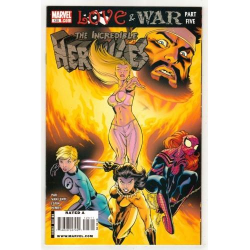 2009 The Incredible Hurcules Comic # 125 – LN