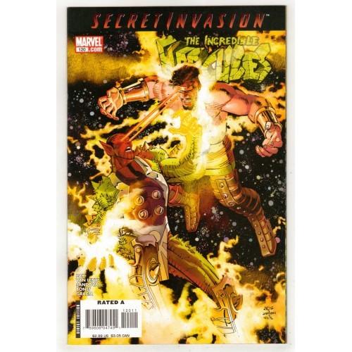2008 The Incredible Hurcules Comic # 120 – NM