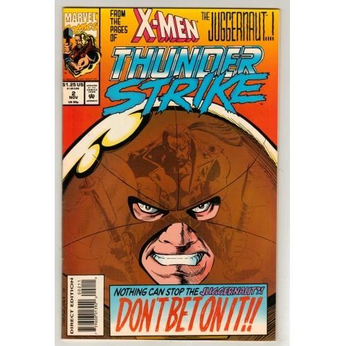 1993 Thunder Strike Comic # 2 – VF+