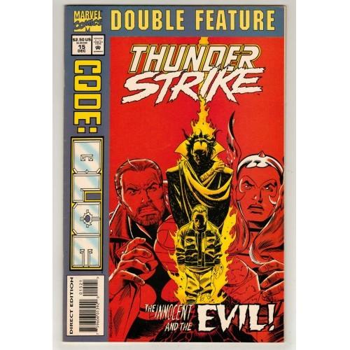 1994 Thunder Strike Comic # 15 Variant A – NM