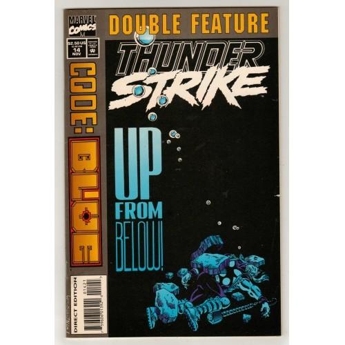 1994 Thunder Strike Comic # 14 Variant A – LN