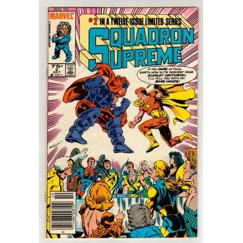 1985 Squadron Supreme Comic # 2 – FN