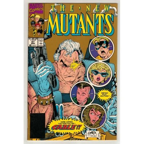 1990 The New Mutants Comic # 87 - 2nd Printing – VG+