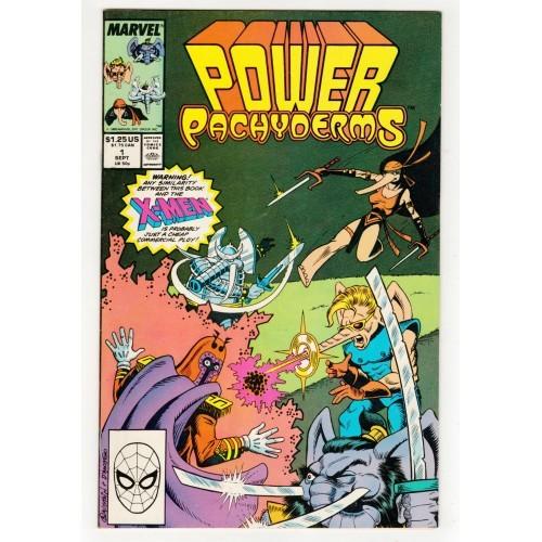 1989 Power Pachyderms Comic # 1 – VF