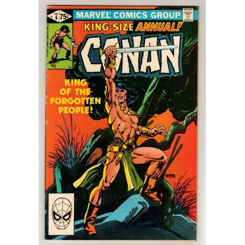 1981 Conan Comic Annual # 6 – FN