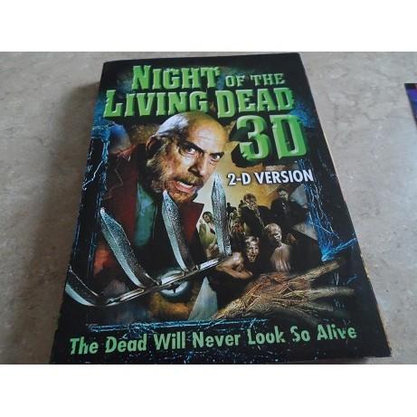 NIGHT OF THE LIVING DEAD 3D  DVD MINI POSTER