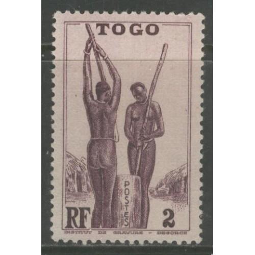 1941  TOGO  2 c.  Togolese Women    mng,  Scott # 270