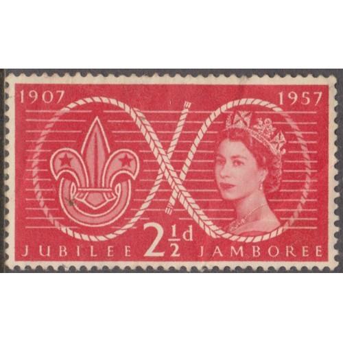 UNUSED GREAT BRITAIN #334 (1937) R