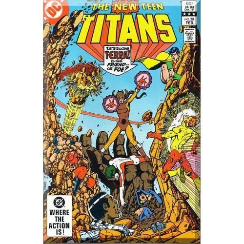 The New Teen Titans #28 (1983) *Bronze Age / DC Comics*