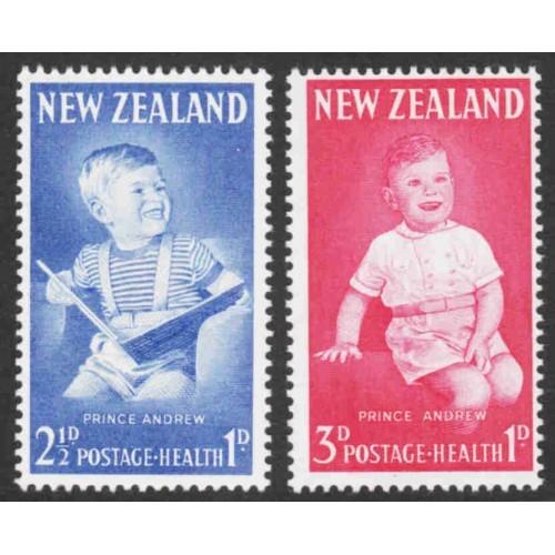 New Zealand - Scott #B65-66 MH