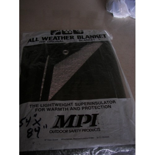 MPI ALL WEATHER BLANKET 54 X 84""