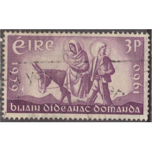 USED IRELAND #173 (1960)
