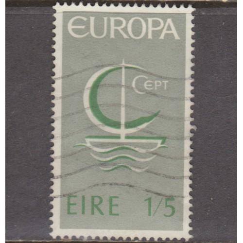 USED IRELAND #217 (1966)
