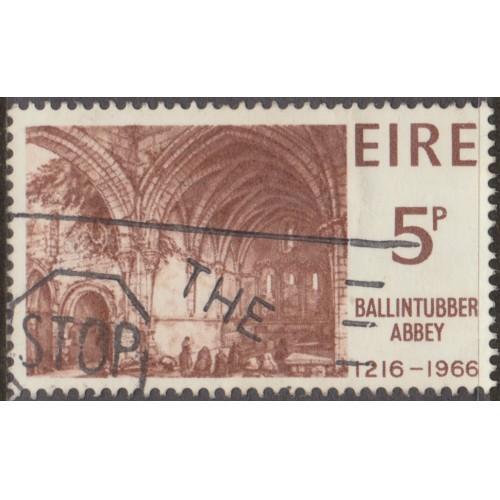 USED IRELAND #218 (1966)