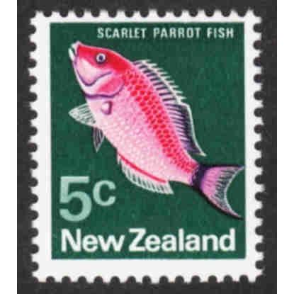 New Zealand - Scott #444 MH (2)