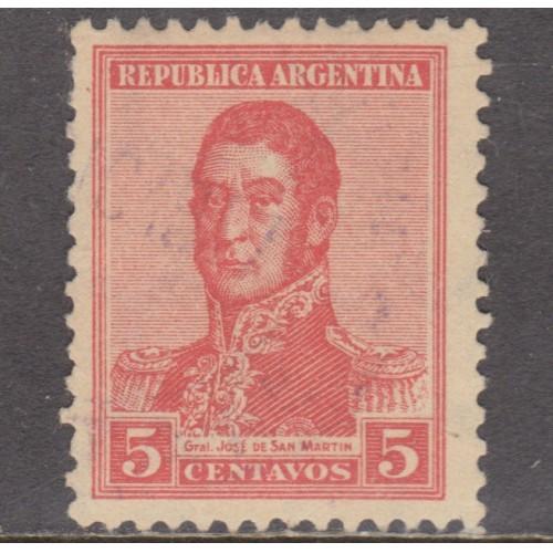 USED ARGENTINA #236 (1917)