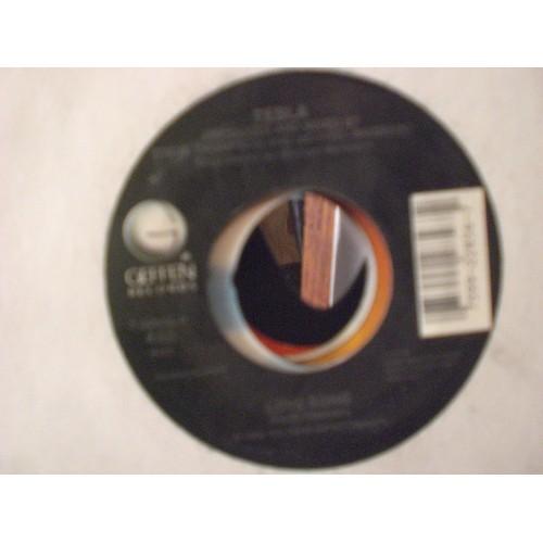 45 RPM: #3343 TESLA - I AIN'T SUPERSTIOUS & LOVE SONG / GEFFEN 22856 / VG ..