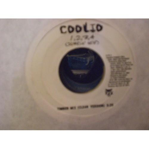 45 RPM: #3405 COOLIO - 1,2,3,4 (SUMPIN' NEW) ( TIMBER MIX & CLEAN ALBUM VERSION)