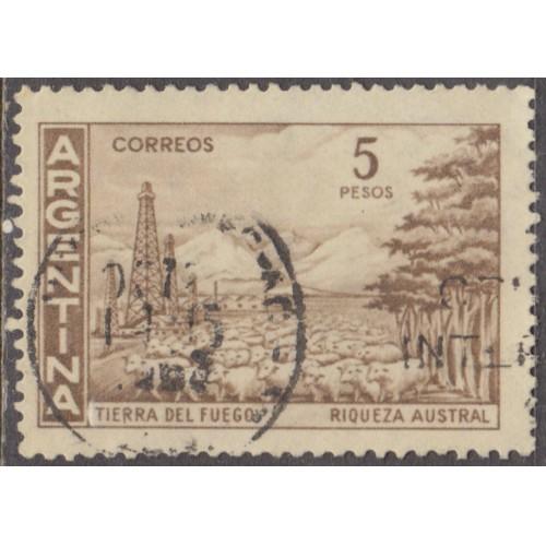 USED ARGENTINA #695 (1959)