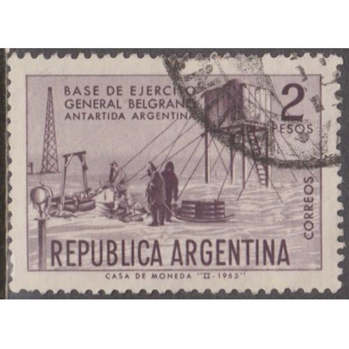 USED ARGENTINA #769 (1965)