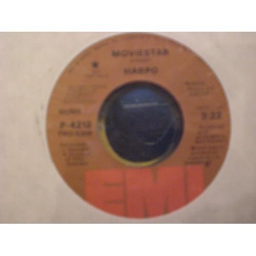 45 RPM: #3666 HARPO - MOVIESTAR (MONO & STEREO) EMI PROMO P-4212 / VG+ ..