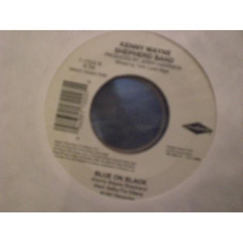 45 RPM: #385 KENNY WAYNE SHEPHERD BAND - BLUE ON BLACK ( ALBUM & ROAD MIX) REVO