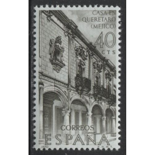 1970 SPAIN   40 c.  Exploration & Development of Mexico   mint*, Scott # 1630