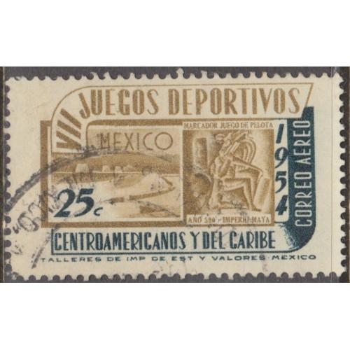 USED MEXICO #C222 (1954)