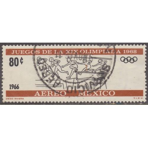 USED MEXICO #C318 (1966)