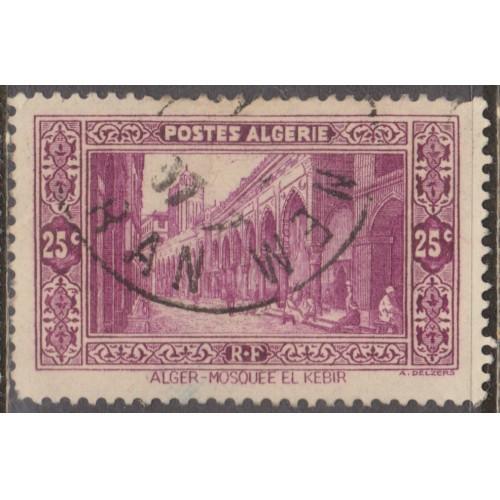 USED ALGERIA #86 (1936)