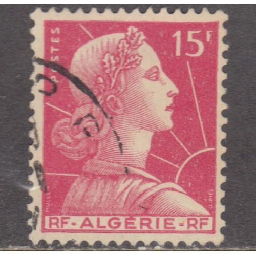 USED ALGERIA #265 (1955)