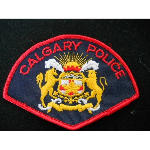 Calgary Police Service. Patch
