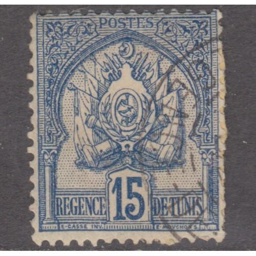 USED TUNISIA #15 (1888)