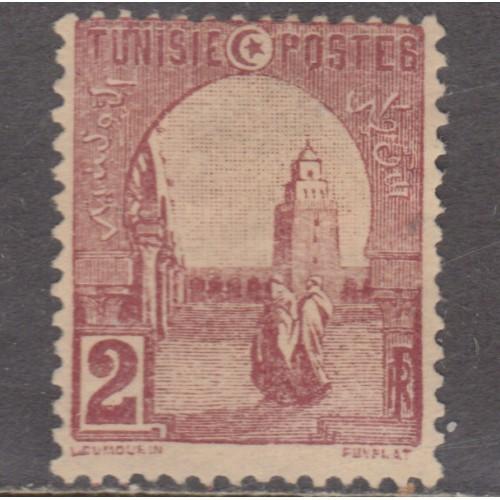 UNUSED TUNISIA #30 (1906)