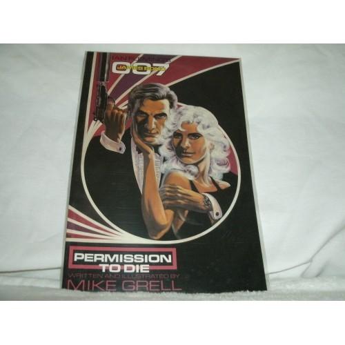 JAMES BOND 007: PERMISSION TO DIE  #1