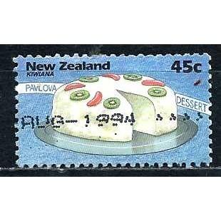 NEW ZEALAND 1994 – Used Sc. 1210. CV $0.70