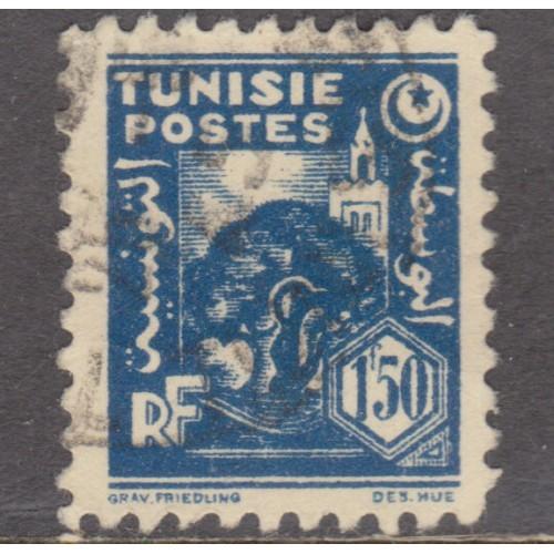 USED TUNISIA #173 (1945)
