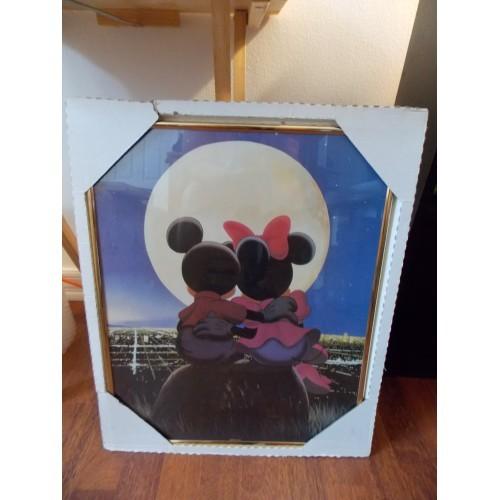 "Disney 16x20 Mickey & Minnie ""Moonstruck"" Picture Frame"